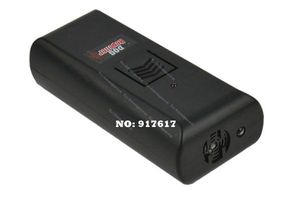 Wholesale-/ 검은 색 새 디자인 초음파 애완견 개 Repeller 훈련 장치 Anti Bark Stop 짖는 조련사 9734 F