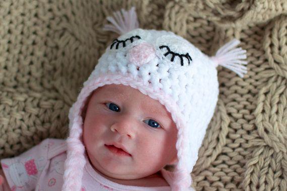 Großhandel Neugeborenes Baby Häkeln Hut Caps, Handgemachte Baby Cute ...