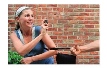 Dispositivo de defensa personal Seguridad personal 110ML Pimienta en spray Mujeres Herramientas de defensa