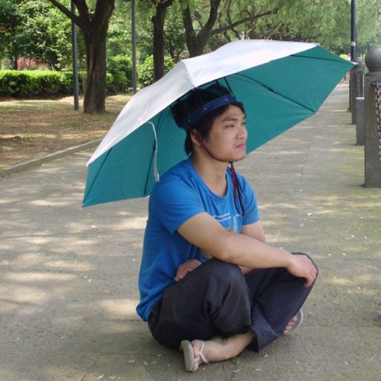 Men Foldable Umbrella Hat Hiking Beach Fishing Umbrella Hat Cap Portable  Head Hats Umbrella Outdoor Necessary From Huojuhua b67462547974