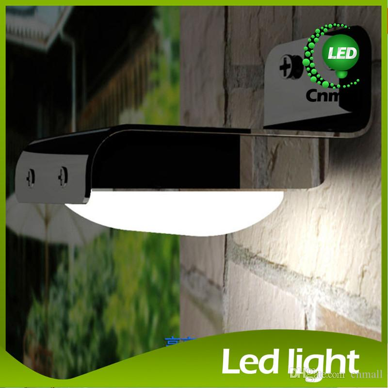 Solar Wall Light Solar Power Wall Lamp 16 LED Wall lamp Led Motion Light Waterproof Wireless Solar Motion Detection LED Sensor Light