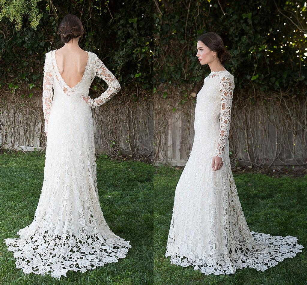 Discount Gorgeous Lace Overlay Wedding Dress Patterns 2015 ...