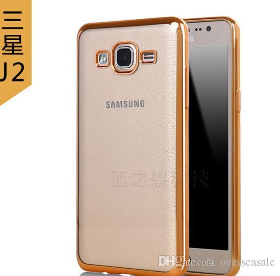 Htc One Schutzhulle Fur Samsung Galaxy On5 On1 J1 Ace J2 J3 J5 J7 A5 A7 A8 Chrom Rahmen Luxus Skin Clear Tpu Gel Back Telefon Abdeckung Fall Fallen