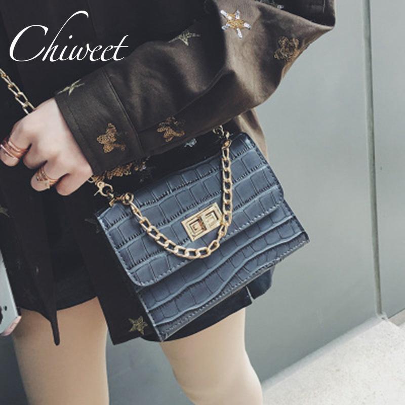e92d95851e591 Brand Serpentine Print PU Leather Handbags Messenger Bag Designer ...