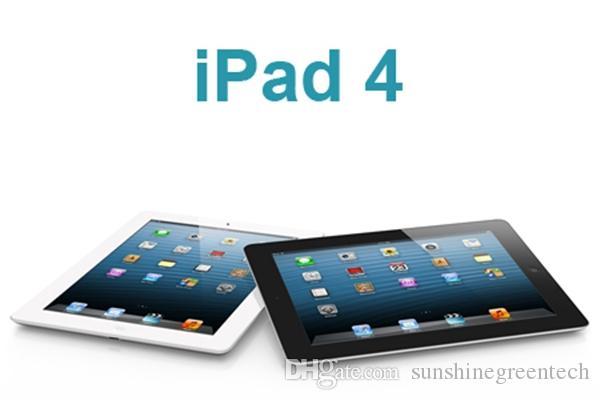 "100% Original Refurbished Apple iPad 4 16GB 32GB 64GB Wifi iPad4 Tablet PC 9.7"" IOS refurbished Tablet China Wholesale DHL"