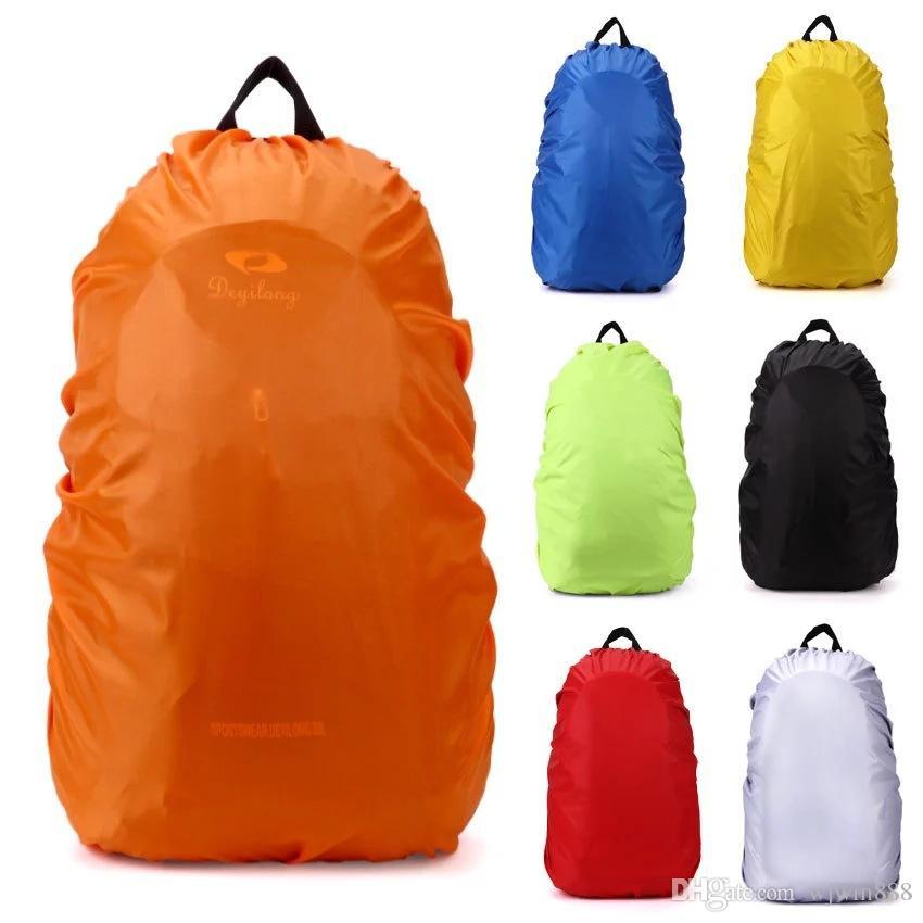 1bbf253acf7 Custom Design Print Logo Nylon Backpack Rain Cover For Hiking Camping  Traveling Waterproof Bag Water Resist Bag Waterproof Backpack Kids  Backpacks From ...