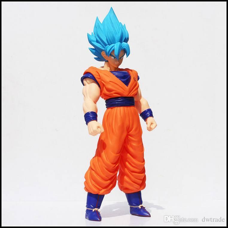 Prettybaby Dragonball 36cm Son Goku Super Saiyan action figures anime DBZ Kakarotto Collectible PVC plastic toys Pt0237#