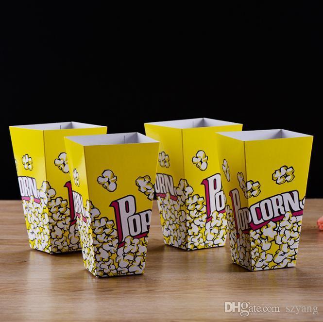 25 x Small Mini Card Food Grade Popcorn Boxes 7cm