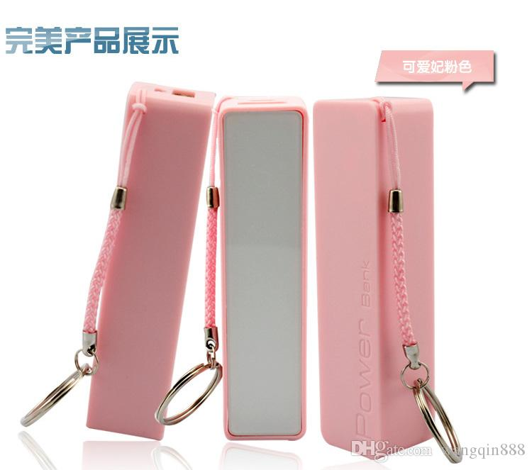 Power Bank 2600mAh portable external battery pack charger Universal power bank for Mobile Phone With Micro USB Cable