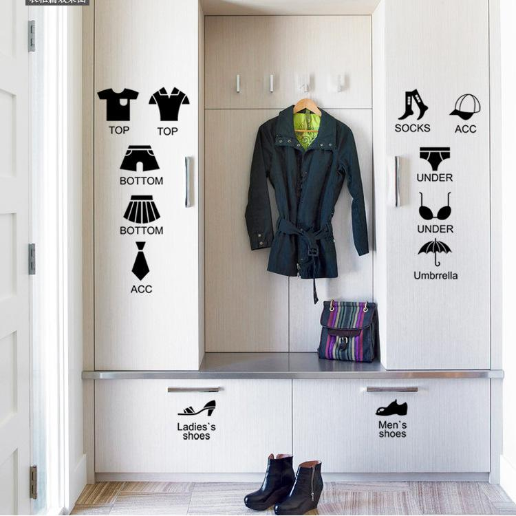 House Rules Garments Label Chest Drawer Ay1101 Furniture Removable