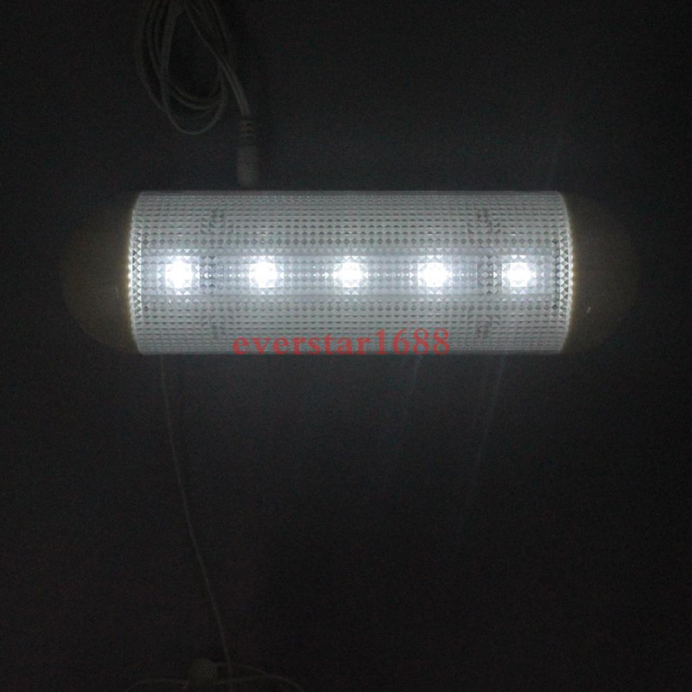 Waterproof 5V Solar Powered LED Solar Light LED Outdoor Light Bulb Garage Shed Corridor Stable Cord Switch Lamp