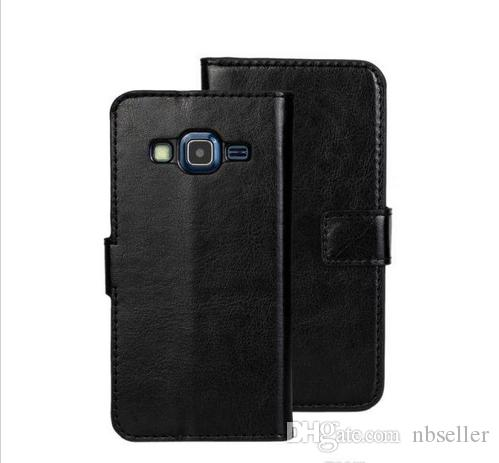 Pour Samsung Galaxy Express 2 G3815 Crazy Horse Mad Retro Wallet cas pochette en cuir couverture de peau carte de crédit titulaire Stand