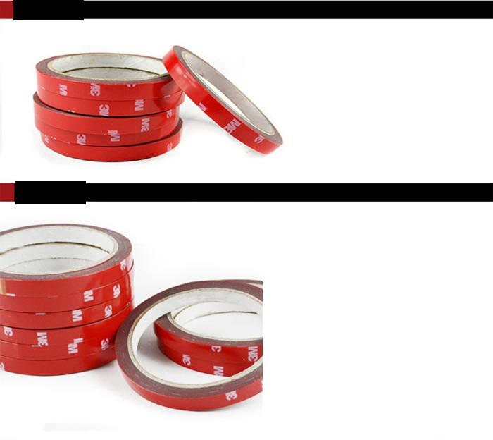 Led şerit 3528/5050 köpük çift taraflı kendinden yapışkanlı bant 3m 8mm / 10mm / 20mm yapışkan