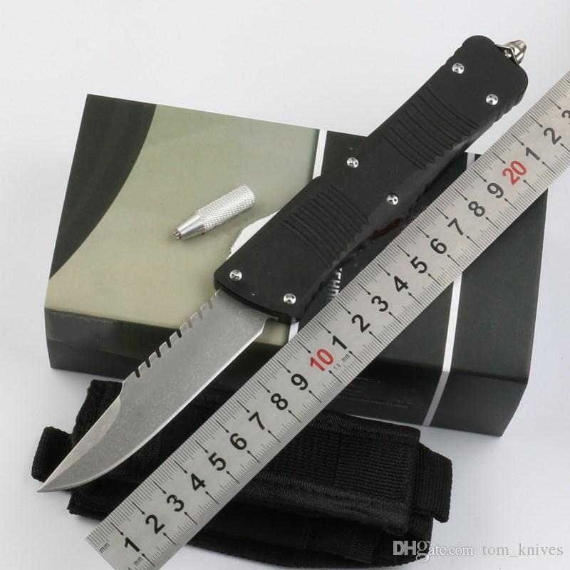 Sıcak Mi savaş savaş yaralı ejderha Avcılık Katlanır Pocket Knife Survival Bıçak Xmas hediye erkekler için kopyaları D2 1 adet