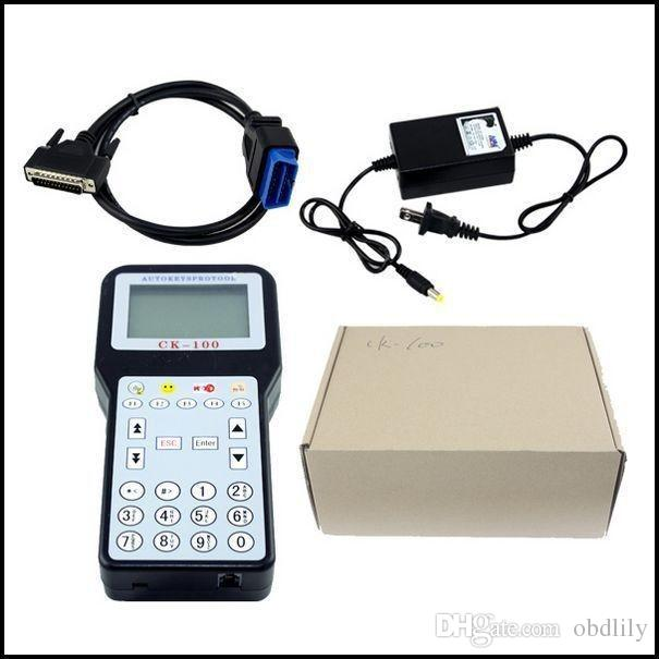 New Arrival CK-100 Car Key Programmer V99.99 Slica SBB the Latest Generation CK100 DHL CK 100 Tool