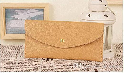 Small Pure and Fresh Card Package Frivolous Fashion Candy Color Wallet long Multicolor Hand bag change purse