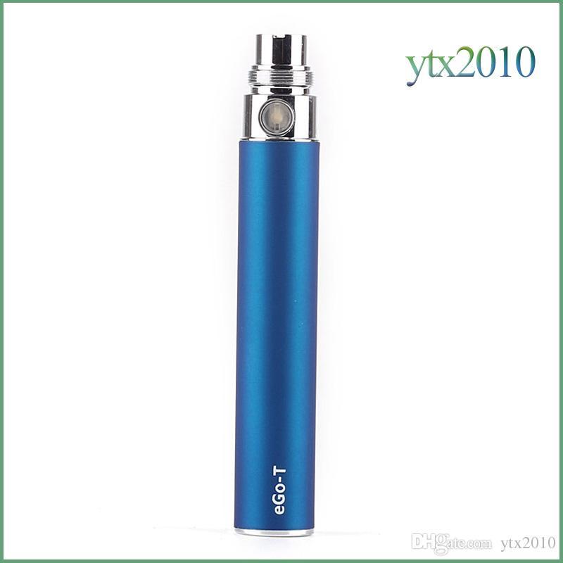 Elektronik Sigaralar Için Ego T Pil E-çiğ 650 mah 900 mah 1100 mah 510 Konu için Ce4 Ce5 MT3 H2 Blister kılıf veya Fermuar kiti