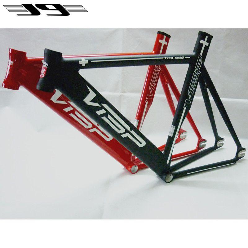 Top Visp Trx999 Fixie Fixed Gear Frame Track Bike Frameset Aluminium ...