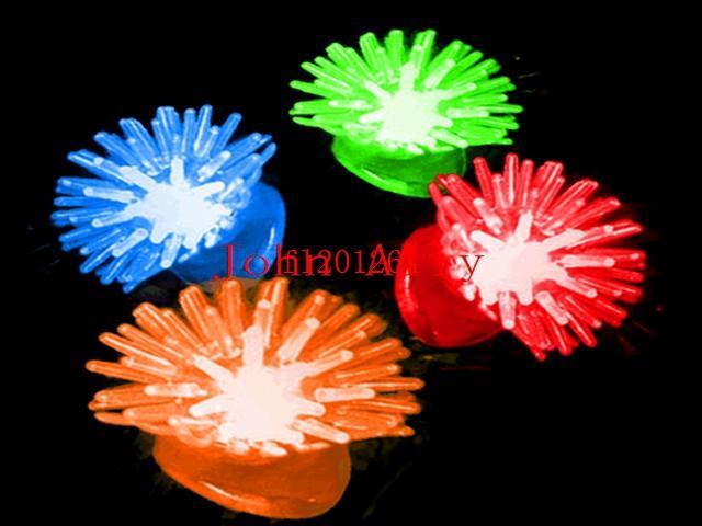 500 pçs / lote Frete Grátis Geléia Macia Brilhando No Escuro LEVOU Anéis de Dedo Do Fulgor Luz Para Festa de Aniversário de Casamento Favor