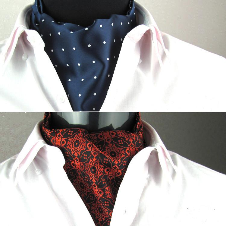 how to make a cravat out of a scarf