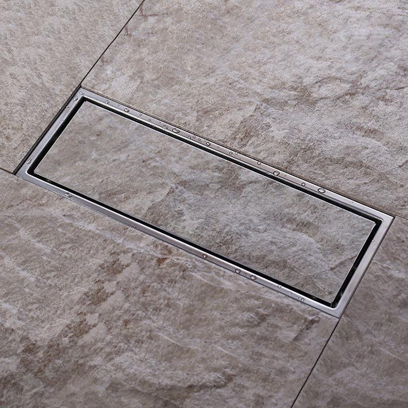 2018 Tile Insert Invisible Two Sided Floor Waste Grates Bathroom