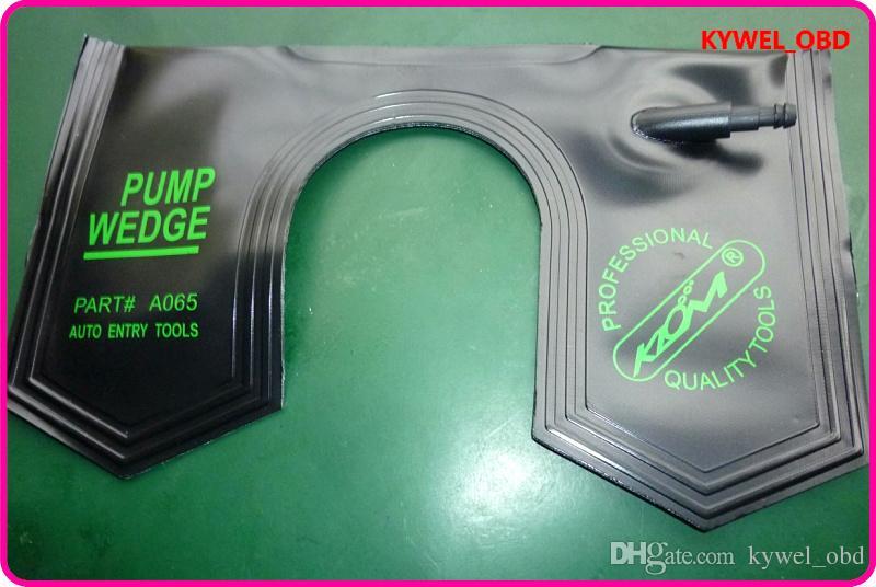 Çilingir Aracı KLOM U Hava şişme Hava Pompası Kama hava kama olmayan marş vinil malzeme ile Kilit Seçim Aracı