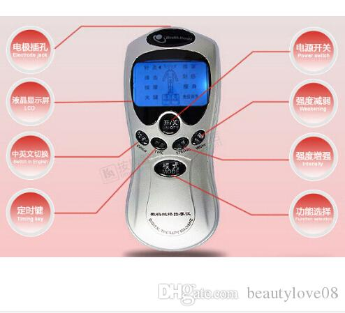 NEW 2016 Good!Tens Weight Loss Body Wrap Acupuncture Digital Therapy Machine Massager Electronic Pulse Health Care Equipment
