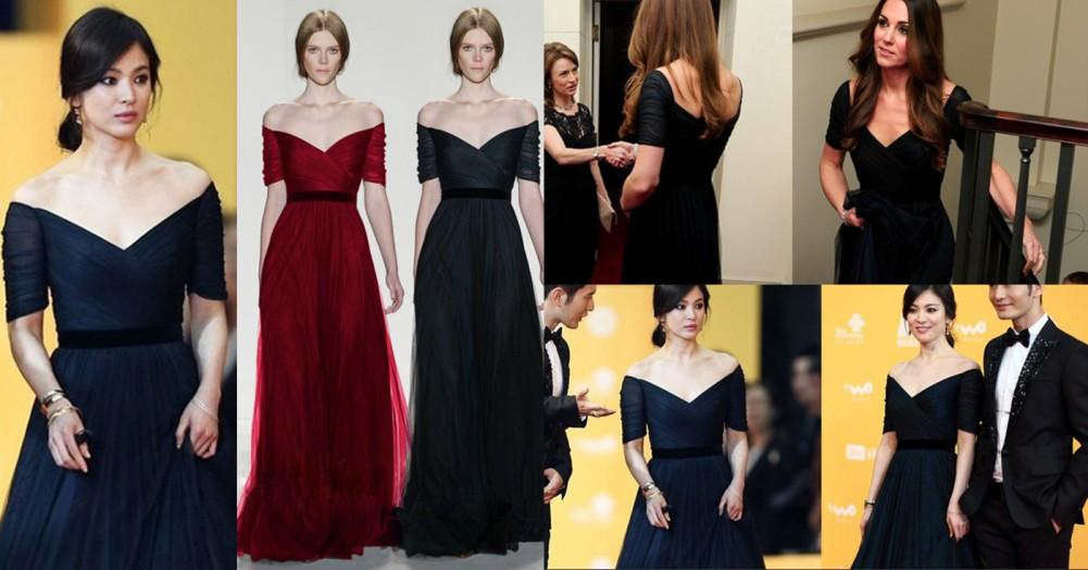 Charming Princess Kate Style Evening Dresses Red Carpet Celebrity