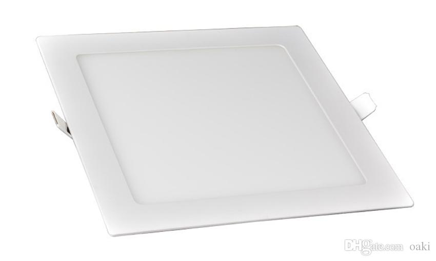 18W 9W LED Down Light LED Panel Downlight Square Epistar Chip 100-110LM/W 3 Years Warranty Manufacturer Supply CE RoHS