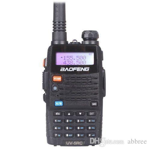 Brand New Baofeng UV-5Rc портативная радиостанция, 136-174 МГц 400-520 МГц, UV5RC двухдиапазонный двойной дисплей, для ветчины, коммерческих, использование безопасности