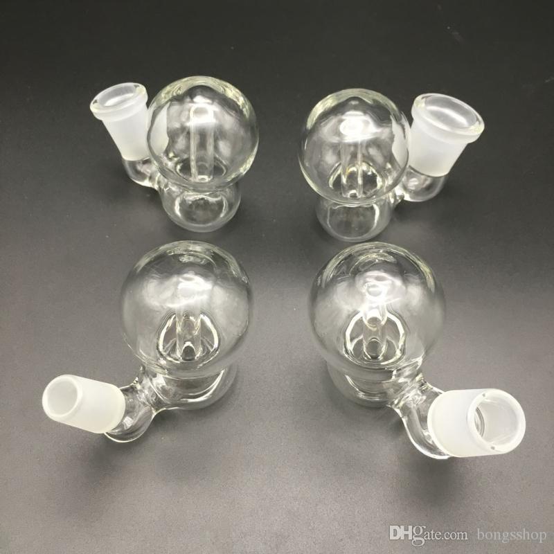 Nuove ciotole di catcher di cenere con boller femmina maschio 10mm 14mm 18mm vetro giunto perc ciotole perc ciotole impianti di petrolio Bongs