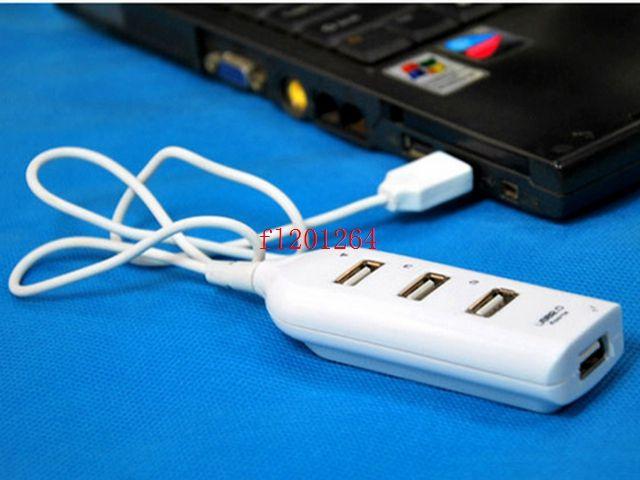 Cheaper price 4 Port USB 2.0 Multi HUB Splitter Expansion Desktop PC Laptop Adapter R4