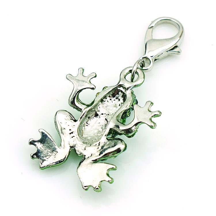 Charms moda lega i strass rana animali aragosta chiusura stile origami pendenti con ciondoli gioielli fai da te accessori