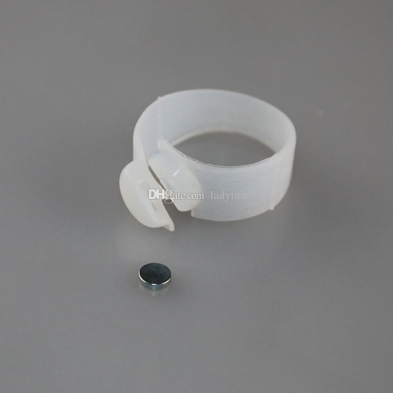دي إتش إل الحرة الشحن / 100 ٪ جديد السيليكون المغناطيسي تدليك القدم تو حزام التخسيس وفقدان الوزن سهلة صحية