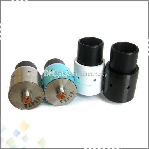 Vaporisateur Mini Velocity RDA 510 Atomiseur dégoulinant reconstructible Isolant PEEK à débit d'air réglable avec embout large pour goutte à goutte fit pour Cig DHL gratuit