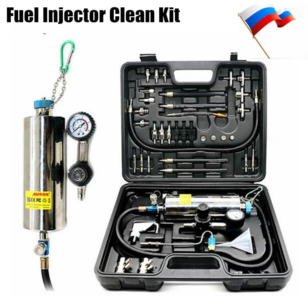 Universal Automotive Non Dismantle Fuel System Cleaner Auto Gasonline Injector  Clean Tool For Petrol Cars Auto Diagnostic Equipment Auto Diagnostic  Scanner ...