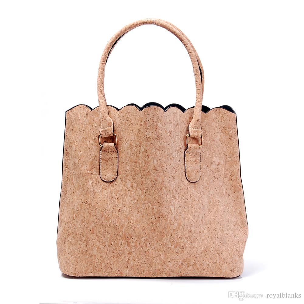 a5b8848e1455 ROYALBLANKS Personalised Cork And Faux Leather Material Women ...