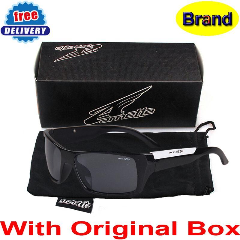Compre Atacado Com Caixa Original, Arnette Sunglasses Marca Moda  Revestimento Sunglass Women   Men Esporte Ciclismo Óculos Oculos De Sol  Feminino De Juaner, ... c1e632e765