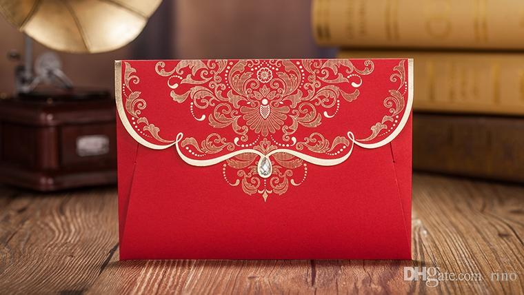 Chinese red wedding invitations cards free printing wedding chinese red wedding invitations cards free printing wedding invitations elegant chinese traditional customized invitations cards supplier wedding shower stopboris Image collections