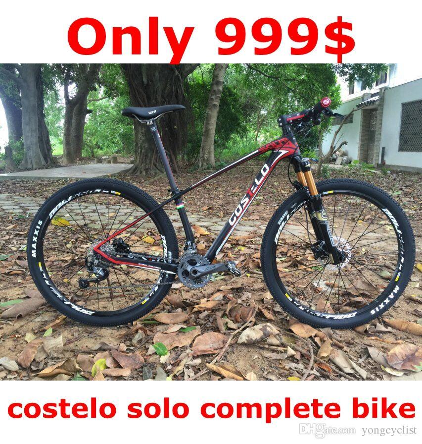 Compre Sólo 999 $ Costelo Solo Montaña Bicicleta Bicicleta Mtb 27,5 ...