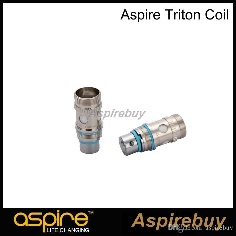 100% оригинал Aspire Triton бак катушки RBA замена катушки с японской органического хлопка 0.3 0.4 1.8 ohm RBA катушки системы