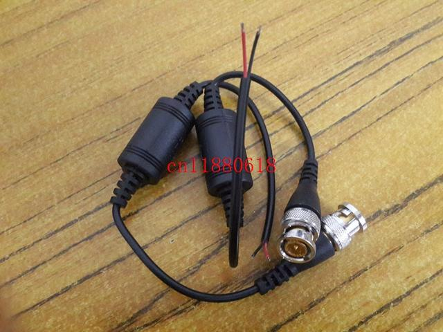 100 шт. / лот 50 пар Бесплатная доставка один канал пассивный приемопередатчик CCTV видео Балун UTP-602B видео над CAT5 кабель BNC мужской