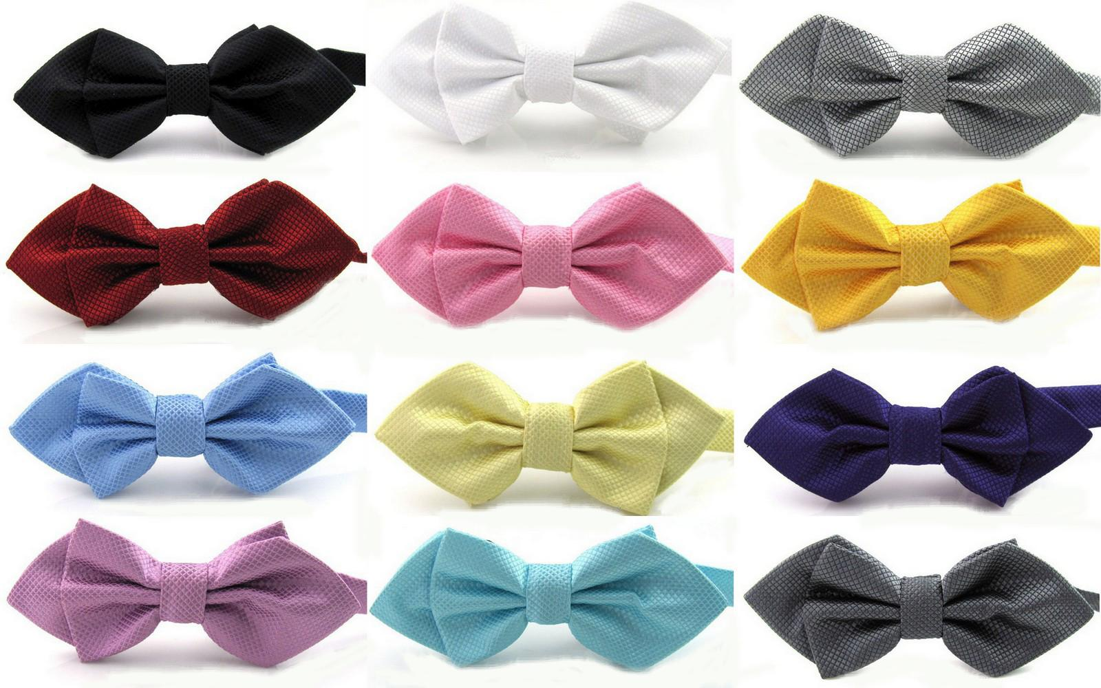 wholesale plaid lane pointed bow tie marriage tie knot personality