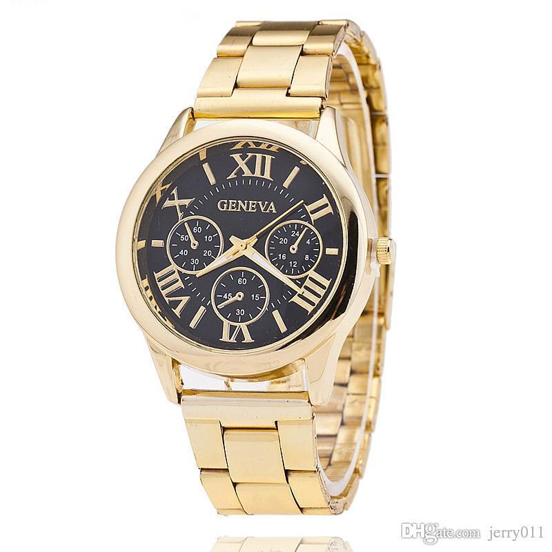 Золотые часы для мужчины qbl