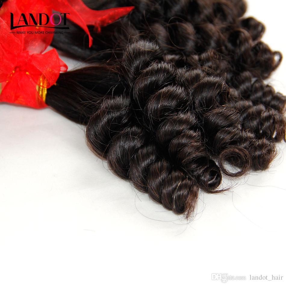 브라질 Aunty Funmi 버진 인간의 머리 탄력있는 나선형 로맨스 곱슬 곱슬 머리 곱슬 머리 처리되지 않은 원시 브라질 곱슬 머리 위브 번들