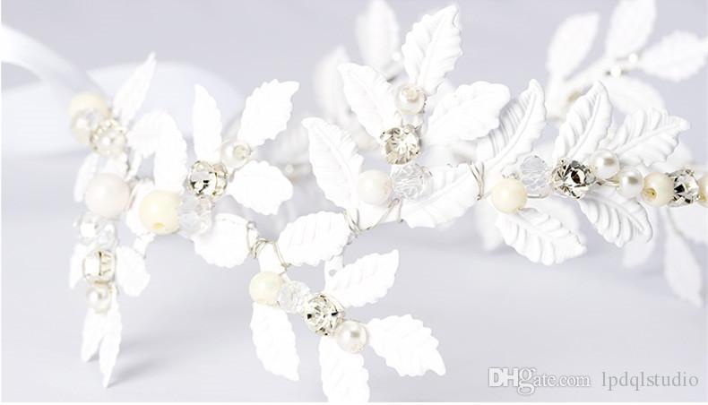 Фея Свадебные Головные Уборы Ободки Новое Прибытие Свадебные Аксессуары Цветы