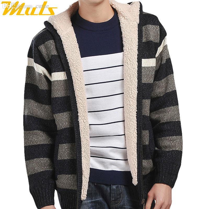 Wholesale-Fashion Sweater Coat for Man Long Sleeve Cardigan Men ...