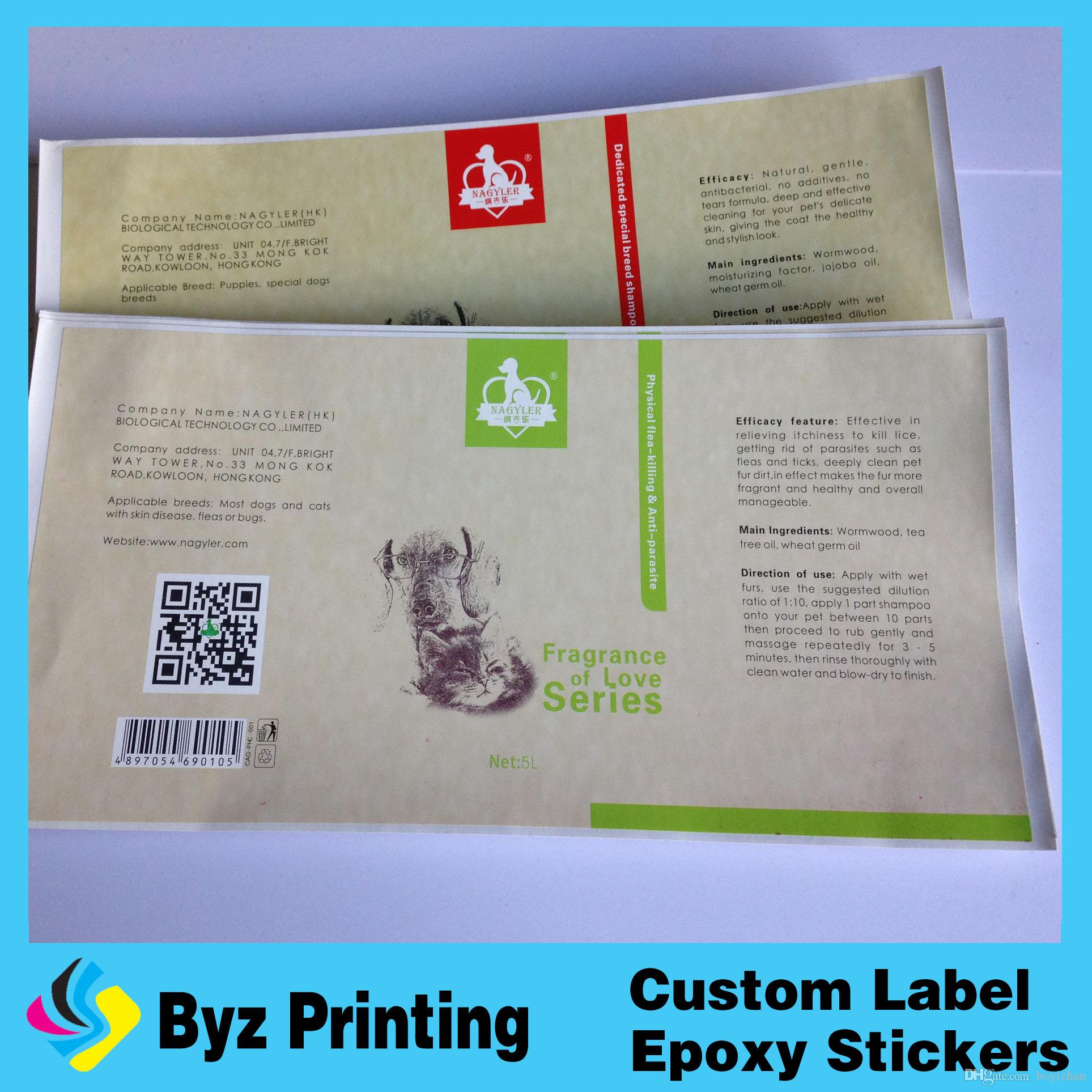 2018 Printing Custom Adhesive Logo Vinyl Roll Label ,Transparent Circle  Labels,Coated Paper Sticker With Lamination From Boyizhan, $0.04 |  Dhgate.Com