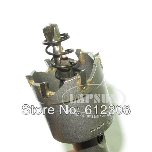 10ps / 강철 초경 팁 드릴 비트 T.C.T 금속 커터 커팅 구멍 톱 세트 스테인레스 홀소 20mm 25mm 30mm 40mm 50mm