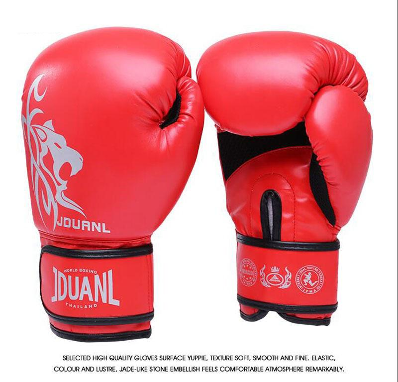 e525a1485 2019 10 Oz Pu Muay Thai Boxing Gloves Mma Sanda Martial Kungfu 2017 New  Women Men Fighting Sandbag Training Mitts Luvas Boxeo Guantes From Soutong